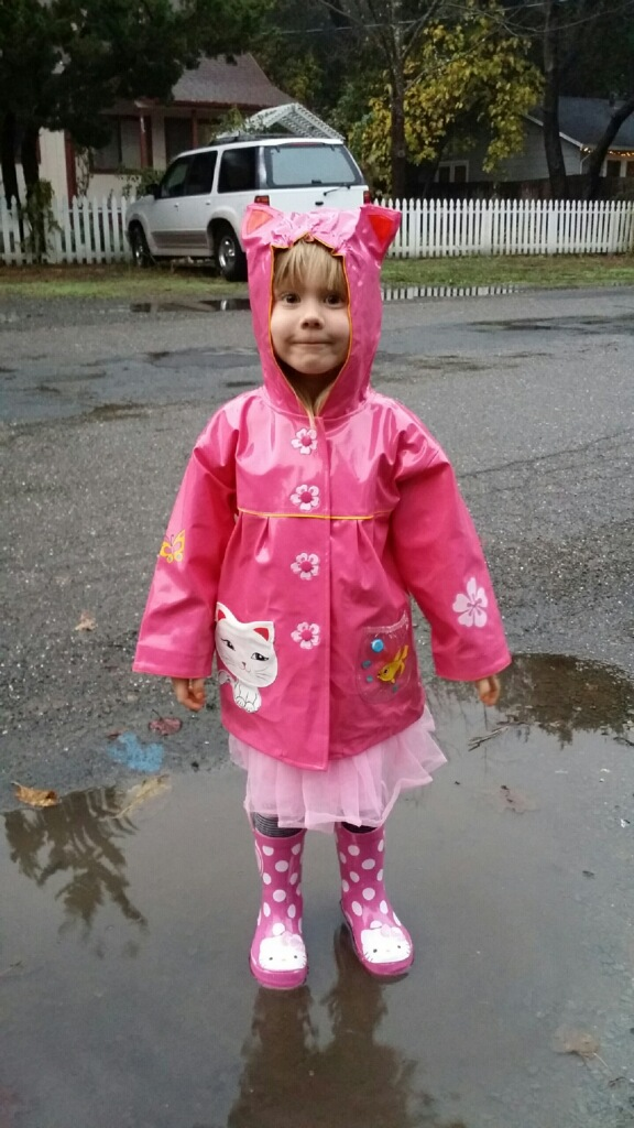 What's not to love about a puddle?