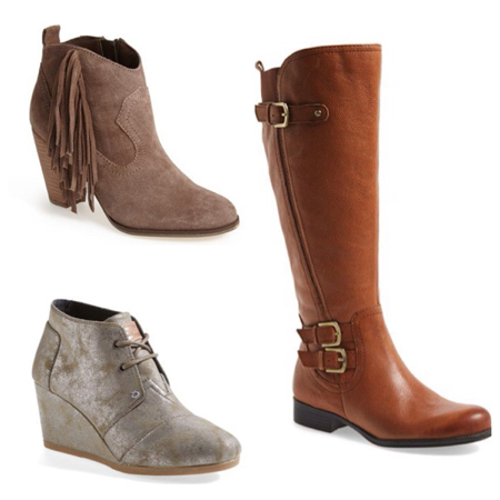 Cute boots in bad weather: what's a girl to do?